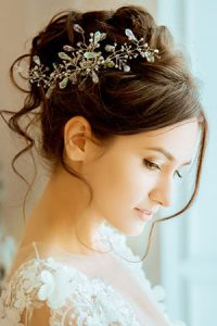 hair up wedding ideas at Gavin Ashley hair salon
