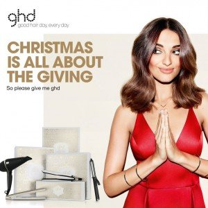 ghd Christmas is all about giving