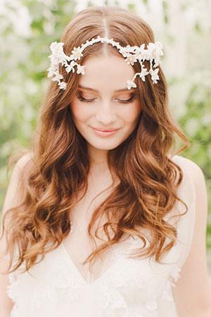 long curly wedding , bury st edmunds hair salon