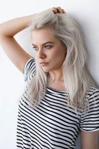 silver-grey-hair colour trend, ZIGZAG Hair Studios, hair salon in Joondalup, Perth