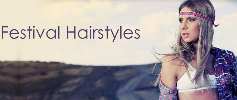 Festival-Hairstyles at Gavin Ashley Hair Salon in Bury St Edmunds