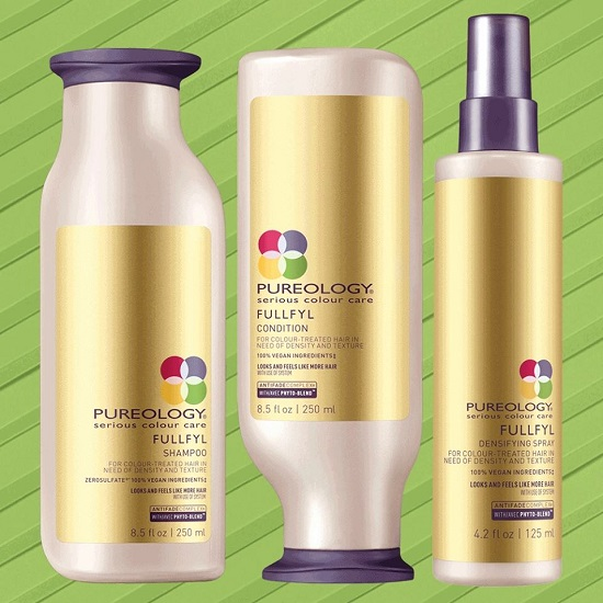 Pureology hair care products at Gavin Ashley hair salon in Bury St. Edmunds
