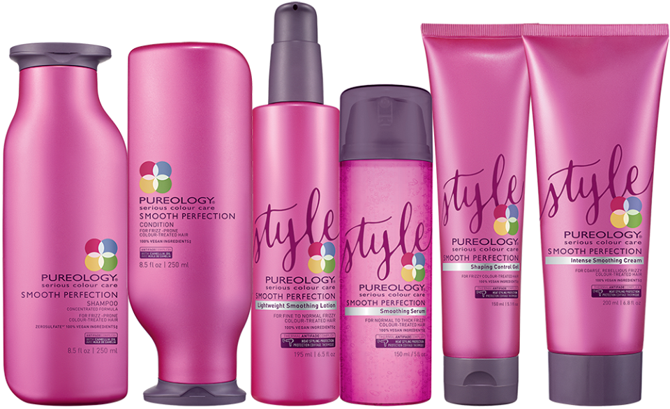 pureology smooth haircare products at Gavin ashley hair Salon in Bury St Edmunds