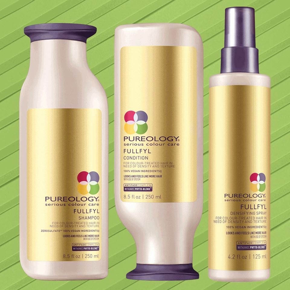 NEW!! Pureology Hair Thickening Products