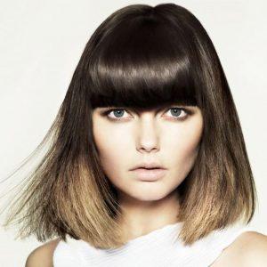 fringe-medium-hair-colour-brown-dip-dye- Gavin Ashley hair-salon