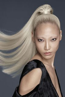 Get the look:  Platinum Blonde & Silver Grey Hair Colour