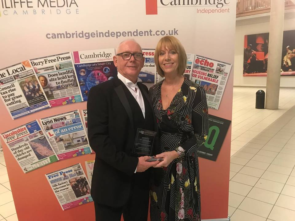 Gavin Ashley Hairdressing 'Highly Commended' in Bury Free Press Awards!