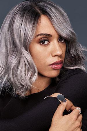 Trendy-Silver-Hair-colour at gavin ashley hair salon bury st edmunds