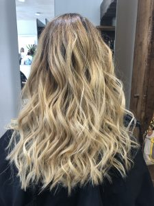 blonde hair colour at gavin ashley hair salon bury st edmunds