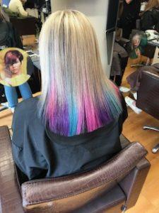 blonde hair at gavin ashley hairdressing bury st edmunds