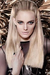 slicked-back-straight-hairstyle at gavin ashley hair salon bury st edmunds