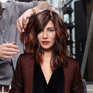 Loreal Brunette hair colours at gavin ashley hair salon bury st edmunds