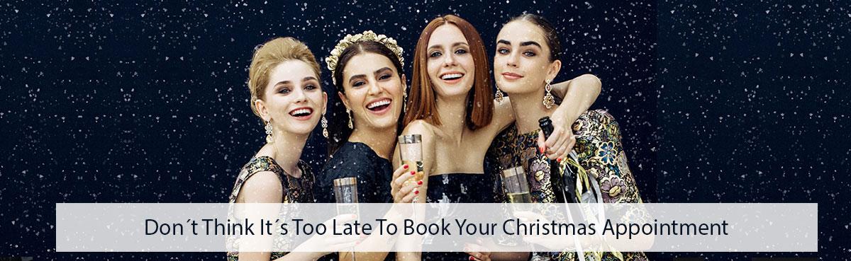 Christmas-Hair-Appointments Book-Now at gavin ashley hair salon bury st edmunds