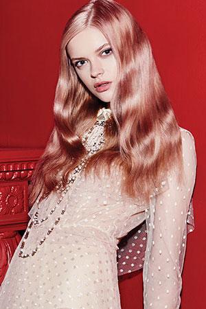 pastel pink hair colours at gavin ashley hair salon in bury st edmunds