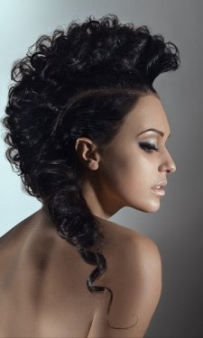 prom and party hairstyle