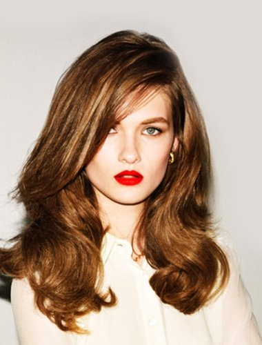 blow-dried-auburn-hair-colour