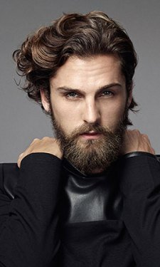 Wavy-Men´s-Hairstyle MEN'S HAIR CUTS & STYLES AT GAVIN ASHLEY BARBERS IN BURY ST EDMUNDS
